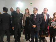 Padre César Corcuera, María Juliana Villafañe, Eduardo Arroyo y Richard Cacchione