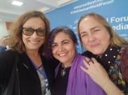 María Juliana Villafañe, Tina Escaja y Mairym Cruz Bernal
