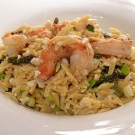 shrimp orzo pasta