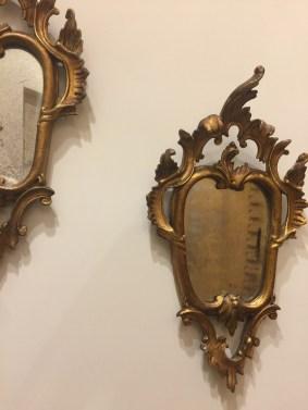 Arredare con gli specchi barocco