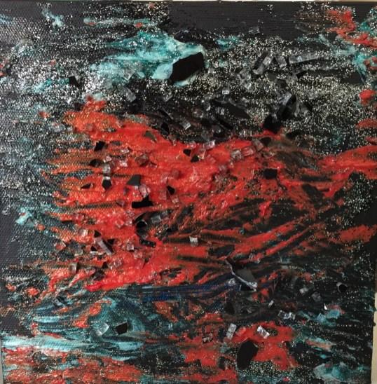 Pittura materica mostra Paolo Erbani (6)