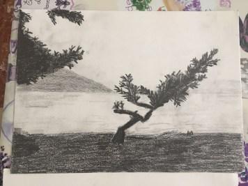 Disegno matita Maria Rosaria