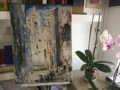 New York tecnica mista Tiziana