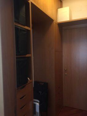 Ante e cassetti armadio prima
