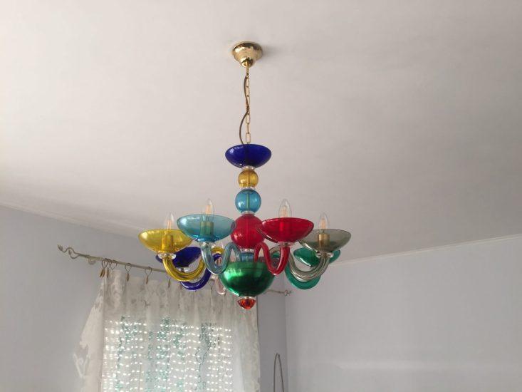 Il lampadario dal quale ho tratto ispirazione per le due proposte