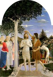 Il Battesimo di Cristo PIERO DELLA FRANCESCA