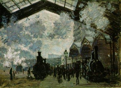 La stazione di St Lazare Monet