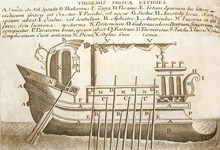 Image result for roman trireme
