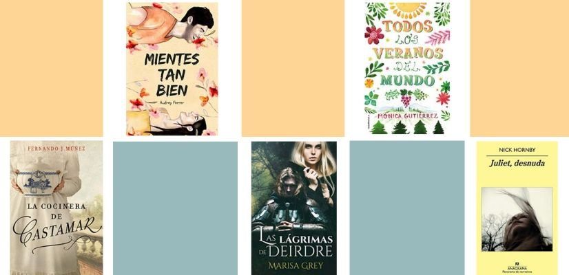 5 novelas para leer estas vacaciones