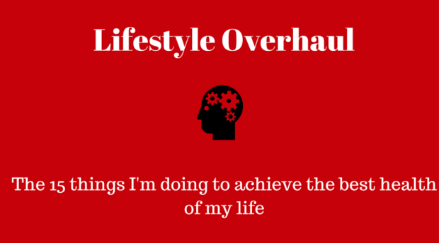 Lifestyle overhaul: the 15 steps I'm taking to reach the best health of my life