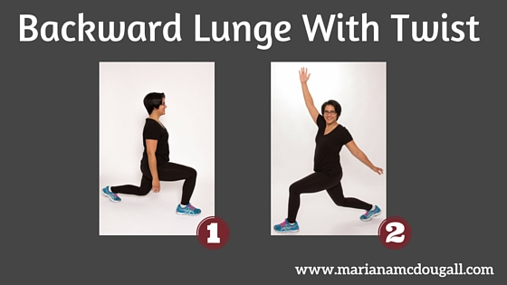 Backward Lunge with Twist