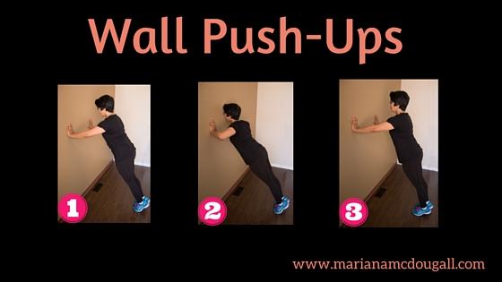 Wall Push-Ups (1)