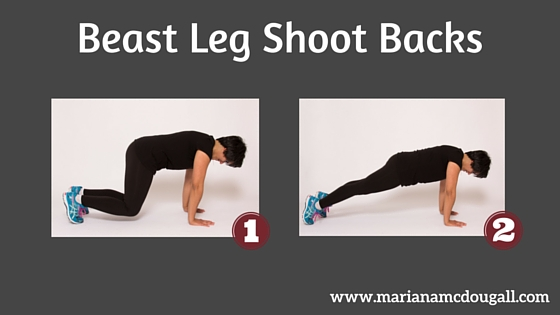 Beast Leg Shoot Backs