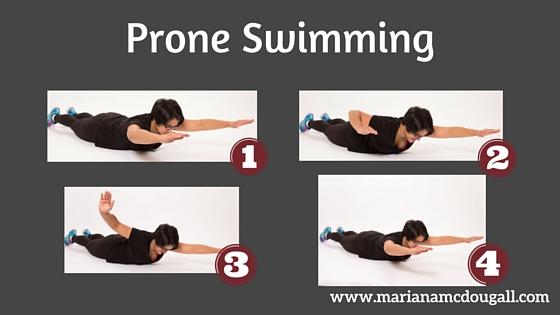 Prone Swimming
