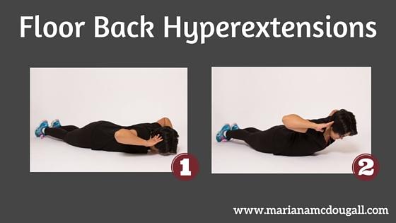 Floor Back Hyperextensions