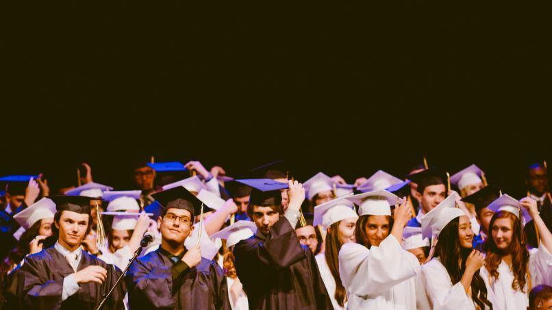 graduating students, homeschooling myths, Photo by Caleb Woods on Unsplash