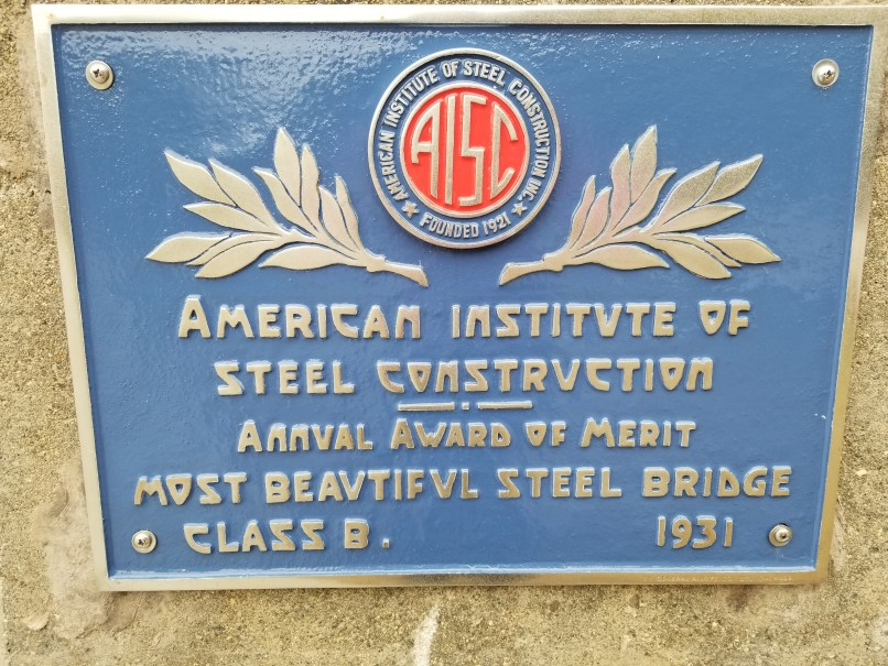 American Institute of Steel Construction Award for Waldo-Hancock Bridge