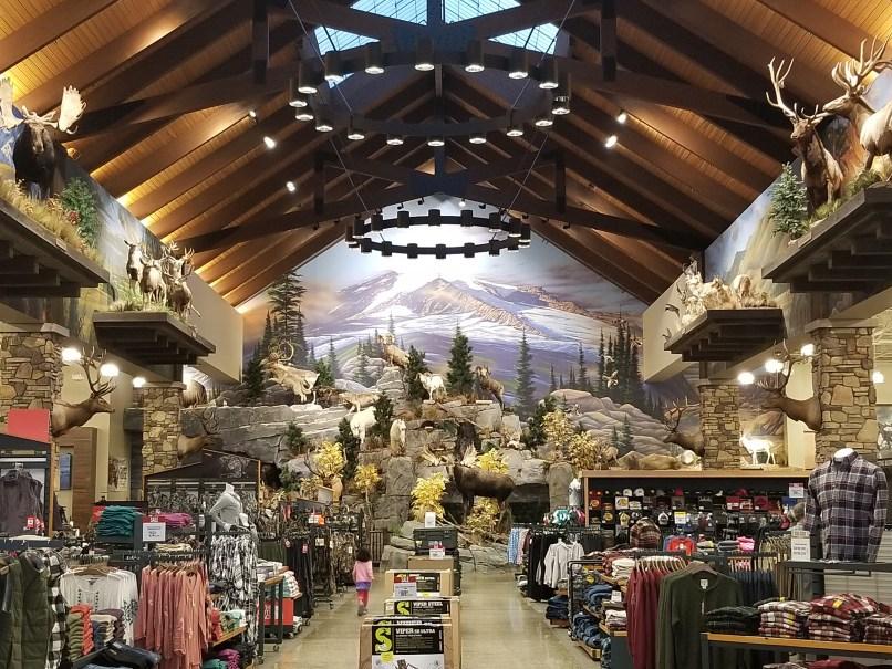 Cabela's store in Maine