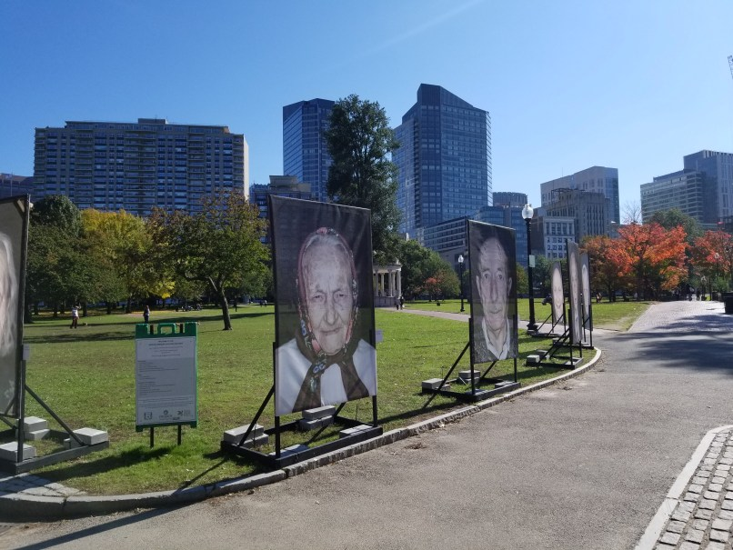 Lest We Forget by Luigi Toscano at Boston Commons