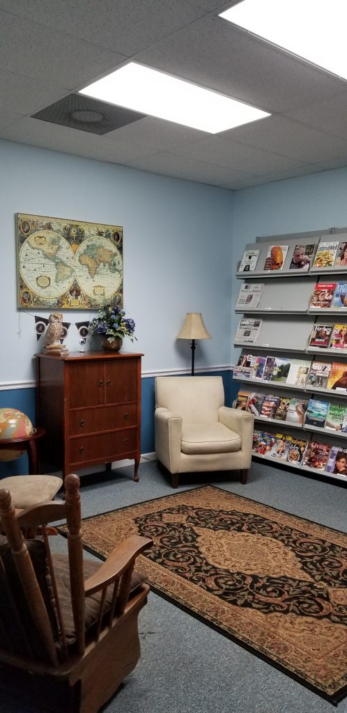 Adult Reading Room at Wakulla County Public Library