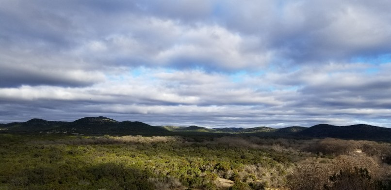 View from Garner State Park hiking trail; Photo by Mariana Abeid-McDougall on www.marianamcdougall.com