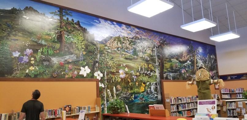 Sonora Public Library Mural