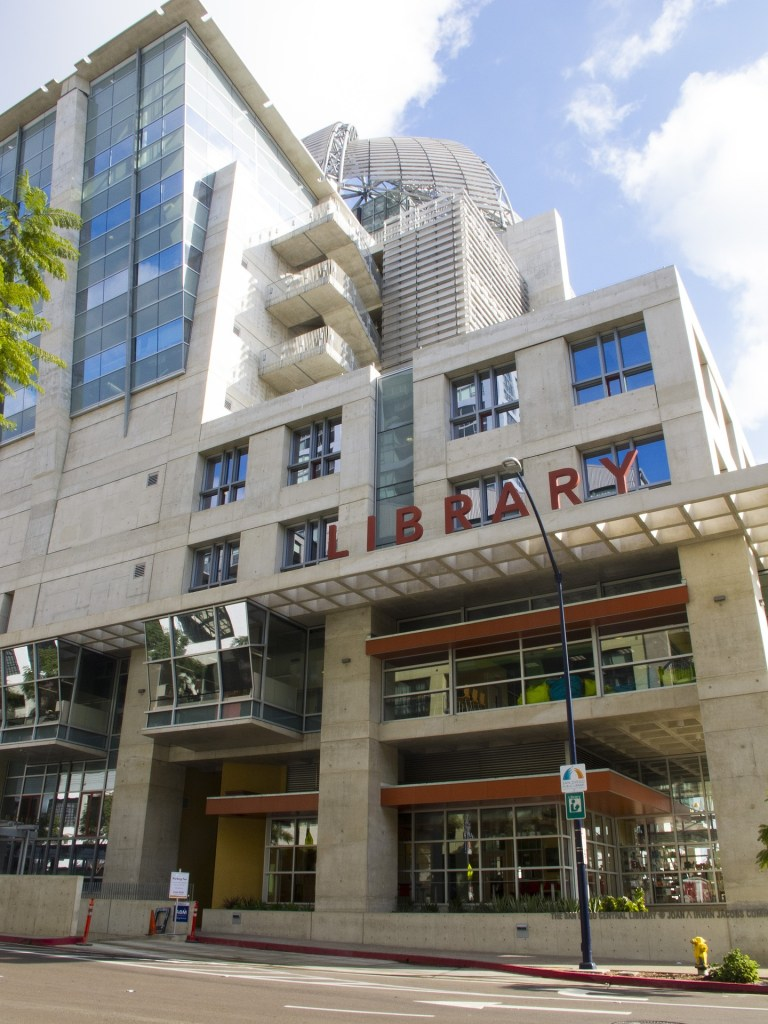 San Diego Library Façade