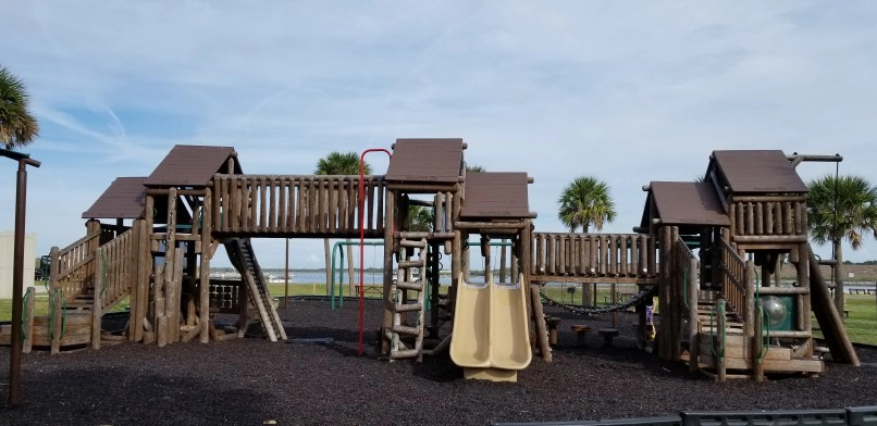 Jetty Park Campground, Cape Canaveral, Florida: picture of playground