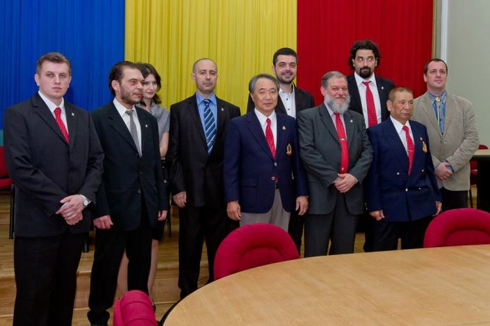 Seminar Internaţional de Arte Marţiale Tradiţionale Japoneze organizat la Timișoara, octombrie 2012