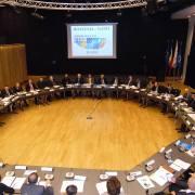 Colegiului Național de Apărare, cu ocazia marcării a 10 ani de la intrarea României în NATO 1