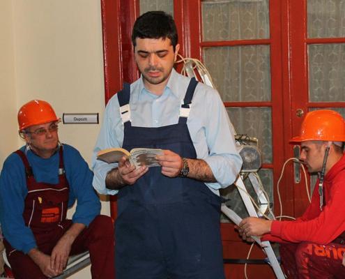 """""""Lecturi aprinse"""" organizată de Biblioteca Județeană Timiș, 2013 4"""