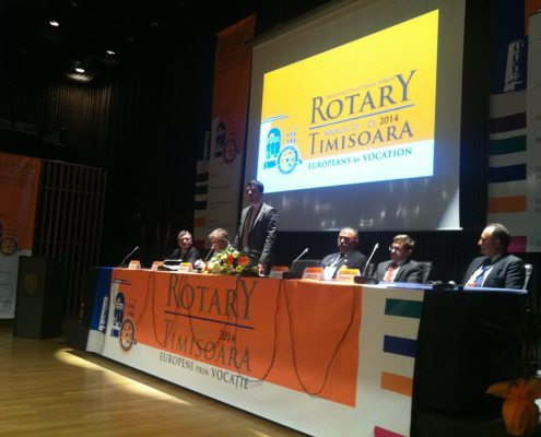 Forumul Vocațional Regional Rotary Timișoara, martie 2014