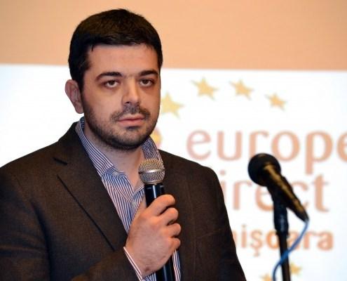 Deschidere a Centrului de Informare Europe Direct, aprilie 2013