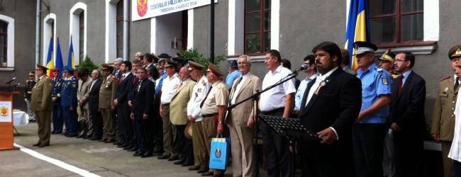 Aniversarea a 95 de ani de la înființarea Centrului Militar Zonal Timiș, august 2014