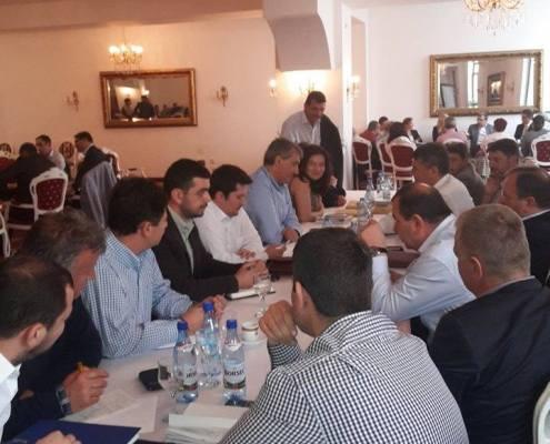 Sedinta PNL in vederea pregatirii alegerilor locale, Sibiu 2015 2