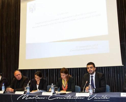 """Conferința """"Împărtășind experienţele Capitalelor Culturale Europene Marsilia-Provence (2013), Liverpool (2008) și Stavanger (2008)"""", noiembrie 2013"""