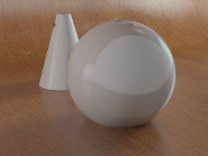 MiniGeo diffusori ceramica colore bianco