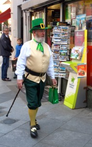 yes, Marian, there are leprechauns in Dublin