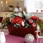 Festbord i aubergine, plomme og vinrødt