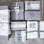 Kreativ innpakning av gaver med stoff