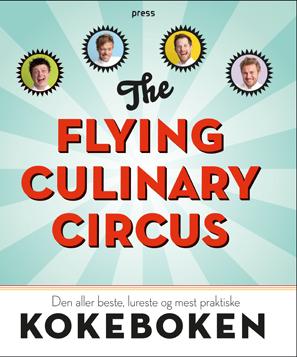 Kokeboken The Flying Culinary Circus