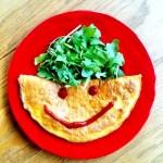 [MAT] PÅ BUDSJETT: Omelett med hemmelig fyll (kr 17,14)