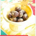 Sukkerfri marsipan med sjokoladetrekk
