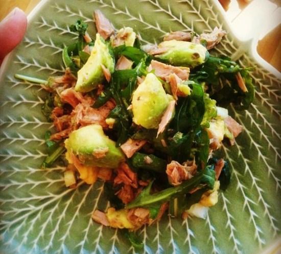 Ingeniørfruens salat med tunfisk og avokado