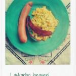 [MAT] FROKOST/LUNSJ: Eggerøre, chilipølse og kalkunbacon