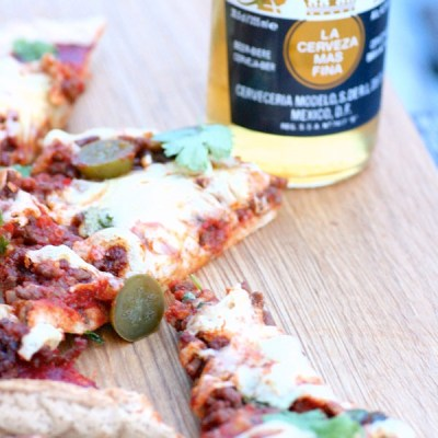 Hurtigpizza på 1-2-3 med brødmix