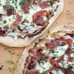 [MAT] Lavkarbo pizza med pizzabunn av brødmix