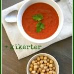 Tomatsuppe/Vegetarisk kikertgryte (kr 14,02)