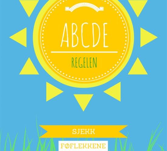 ABCDE-regelen: Slik sjekker du føflekkene