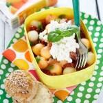 [MAT] Matpakke med melon- og skinkesalat